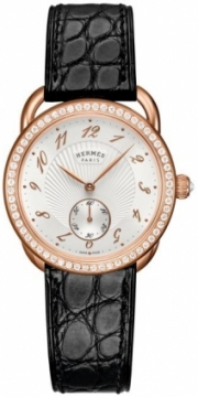 Hermes Arceau Ecuyere Automatic MM 34mm Ladies watch, model number - 037933WW00, discount price of £14,570.00 from The Watch Source