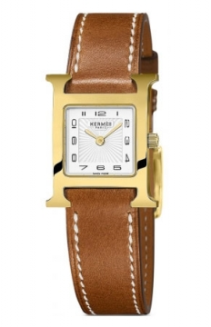 Hermes H Hour Quartz Petite TPM Ladies watch, model number - 037963WW00, discount price of £1,332.00 from The Watch Source