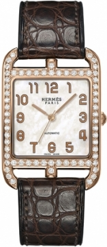 Hermes Cape Cod Automatic Medium GM Ladies watch, model number - 038018ww00, discount price of £14,120.00 from The Watch Source