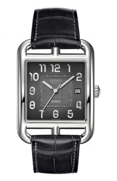 Hermes Cape Cod Automatic Large TGM Mens watch, model number - 038026WW00, discount price of £2,985.00 from The Watch Source