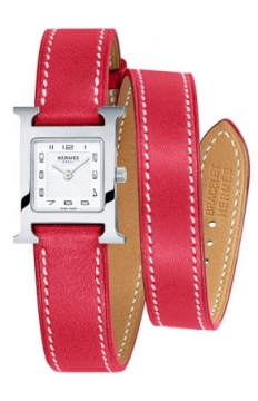 Hermes H Hour Quartz Small PM Ladies watch, model number - 038277WW00, discount price of £1,422.00 from The Watch Source