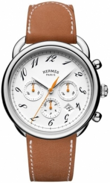 Hermes Arceau Automatic Chronograph 43mm Mens watch, model number - 038695WW00, discount price of £4,032.00 from The Watch Source