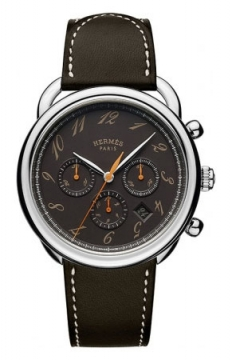 Hermes Arceau Automatic Chronograph 43mm Mens watch, model number - 038700WW00, discount price of £4,032.00 from The Watch Source