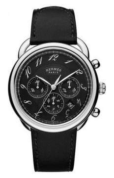 Hermes Arceau Automatic Chronograph 43mm Mens watch, model number - 038701WW00, discount price of £3,670.00 from The Watch Source