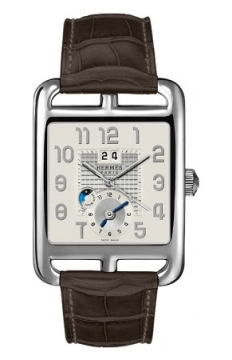 Hermes Cape Cod GMT Automatic Large TGM Mens watch, model number - 038713WW00, discount price of £4,383.00 from The Watch Source