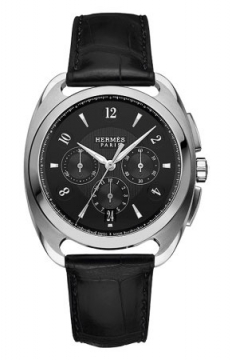 Hermes Dressage Automatic Chronograph GM Mens watch, model number - 038896WW00, discount price of £6,498.00 from The Watch Source