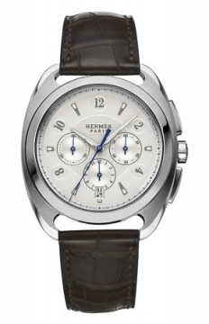 Hermes Dressage Automatic Chronograph GM Mens watch, model number - 038897WW00, discount price of £6,498.00 from The Watch Source