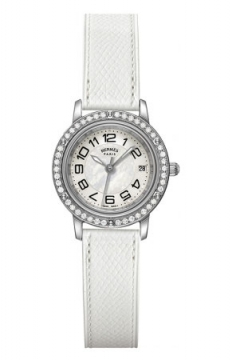 Hermes Clipper Quartz PM 24mm Ladies watch, model number - 038995WW00, discount price of £3,447.00 from The Watch Source