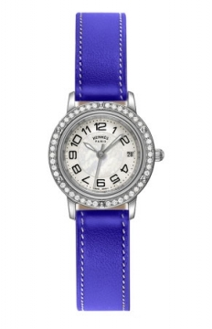 Hermes Clipper Quartz PM 24mm Ladies watch, model number - 038997WW00, discount price of £3,447.00 from The Watch Source