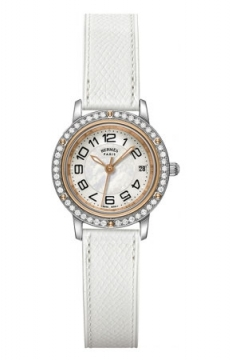 Hermes Clipper Quartz PM 24mm Ladies watch, model number - 038998WW00, discount price of £3,915.00 from The Watch Source