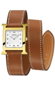 Hermes H Hour Quartz Medium MM Ladies watch, model number - 039197WW00, discount price of £1,593.00 from The Watch Source