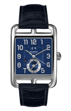 Hermes Cape Cod GMT Automatic Large TGM Mens watch, model number - 039212WW00, discount price of £4,383.00 from The Watch Source