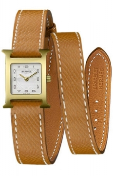 Hermes H Hour Quartz Petite TPM Ladies watch, model number - 039350WW00, discount price of £1,530.00 from The Watch Source