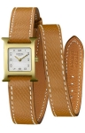 Hermes H Hour Quartz Petite TPM 039350WW00 watch