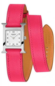 Hermes H Hour Quartz Petite TPM Ladies watch, model number - 039354WW00, discount price of £1,422.00 from The Watch Source