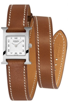 Hermes H Hour Quartz Petite TPM Ladies watch, model number - 039358WW00, discount price of £1,422.00 from The Watch Source