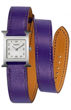 Hermes H Hour Quartz Petite TPM Ladies watch, model number - 039365WW00, discount price of £1,422.00 from The Watch Source