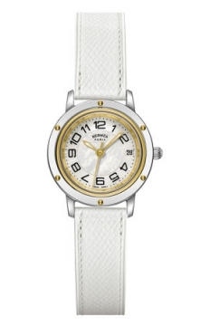 Hermes Clipper Quartz PM 24mm Ladies watch, model number - 039390WW00, discount price of £1,944.00 from The Watch Source
