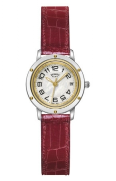 Hermes Clipper Quartz PM 24mm Ladies watch, model number - 039391WW00, discount price of £2,088.00 from The Watch Source