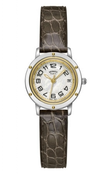 Hermes Clipper Quartz PM 24mm Ladies watch, model number - 039392WW00, discount price of £2,088.00 from The Watch Source