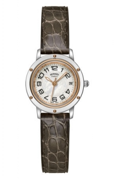 Hermes Clipper Quartz PM 24mm Ladies watch, model number - 039394WW00, discount price of £2,088.00 from The Watch Source