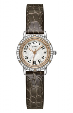 Hermes Clipper Quartz PM 24mm Ladies watch, model number - 039397WW00, discount price of £4,059.00 from The Watch Source