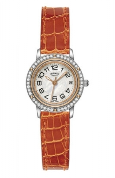 Hermes Clipper Quartz PM 24mm Ladies watch, model number - 039399WW00, discount price of £4,059.00 from The Watch Source