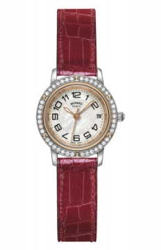 Hermes Clipper Quartz PM 24mm Ladies watch, model number - 039400WW00, discount price of £4,059.00 from The Watch Source