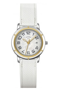 Hermes Clipper Quartz MM 28mm Ladies watch, model number - 039405WW00, discount price of £1,944.00 from The Watch Source
