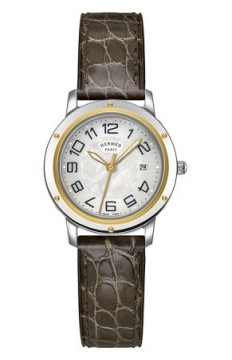 Hermes Clipper Quartz MM 28mm Ladies watch, model number - 039406WW00, discount price of £2,088.00 from The Watch Source