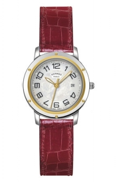 Hermes Clipper Quartz MM 28mm Ladies watch, model number - 039407WW00, discount price of £2,088.00 from The Watch Source