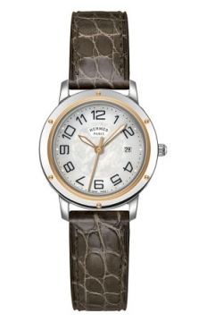 Hermes Clipper Quartz MM 28mm Ladies watch, model number - 039409WW00, discount price of £2,088.00 from The Watch Source