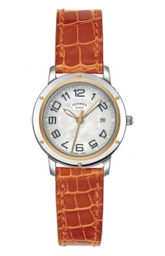 Hermes Clipper Quartz MM 28mm Ladies watch, model number - 039410WW00, discount price of £2,088.00 from The Watch Source