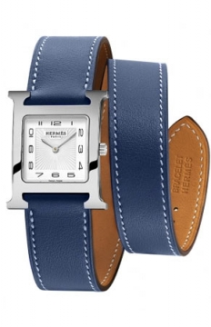 Hermes H Hour Quartz Medium MM Ladies watch, model number - 039426WW00, discount price of £1,476.00 from The Watch Source