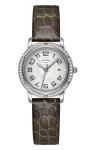 Hermes Clipper Quartz MM 28mm 039518WW00 watch