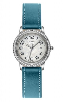 Hermes Clipper Quartz MM 28mm Ladies watch, model number - 039519WW00, discount price of £3,681.00 from The Watch Source