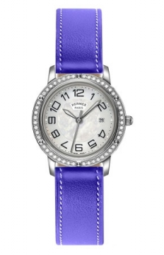 Hermes Clipper Quartz MM 28mm Ladies watch, model number - 039523WW00, discount price of £3,537.00 from The Watch Source