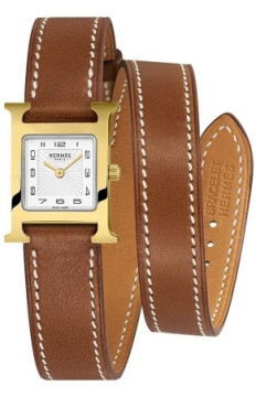 Hermes H Hour Quartz Petite TPM Ladies watch, model number - 039641WW00, discount price of £1,530.00 from The Watch Source
