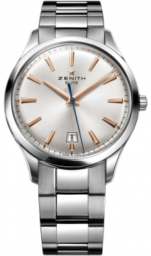 Zenith Captain Central Second Mens watch, model number - 03.2020.670/01.m2020, discount price of £3,510.00 from The Watch Source