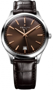 Zenith Captain Central Second Mens watch, model number - 03.2020.670/76.c498, discount price of £3,340.00 from The Watch Source
