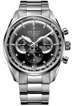 Zenith El Primero 36'000 VpH 42mm Mens watch, model number - 03.2040.400/21.m2040, discount price of £4,800.00 from The Watch Source