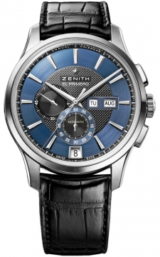 Zenith Captain Winsor Chronograph Mens watch, model number - 03.2070.4054/22.c708, discount price of £6,165.00 from The Watch Source