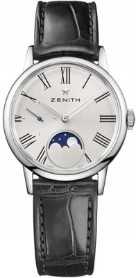 Buy this new Zenith Elite Ultra Thin Lady Moonphase 33mm 03.2330.692/02.c714 ladies watch for the discount price of £3,818.00. UK Retailer.