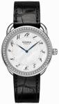 Hermes Arceau Quartz GM 38mm 040103WW00 watch