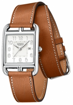 Hermes Cape Cod Quartz Medium GM Ladies watch, model number - 040185ww00, discount price of £1,741.00 from The Watch Source