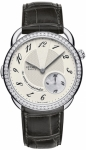 Hermes Arceau Le Temps Suspendu GM 38mm 040289WW00 watch