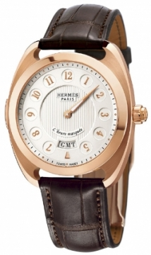 Hermes Dressage L'Heure Masquee GM Mens watch, model number - 040645ww00, discount price of £25,402.00 from The Watch Source