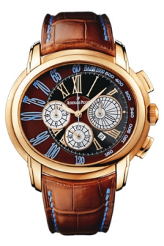 Audemars Piguet Millenary Chronograph Mens watch, model number - 26145or.oo.d095cr.01, discount price of £31,140.00 from The Watch Source