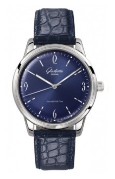 Glashutte Original Senator Sixties  Mens watch, model number - 1-39-52-06-02-04, discount price of £4,080.00 from The Watch Source