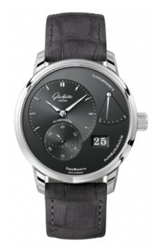 Glashutte Original PanoReserve Manual Wind 40mm Mens watch, model number - 1-65-01-23-12-04, discount price of £6,270.00 from The Watch Source